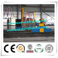 Quality Professional CNC Plasma Cutting Machine , Flame H Beam Cutting Machine CE / ISO wholesale