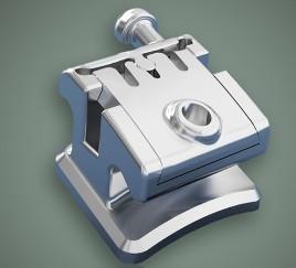 Best Dental Orthodontic Instruments Metal Self - Ligating Bracket wholesale