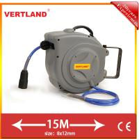 Buy cheap Auto Rewind Wall Swivel Mounted Retractable Hose air hose reel GQ150C 15m 5/16 from wholesalers