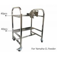 Best Storage Cart SMT Feeder Trolley Aluminum Alloy SS Matieral For Yamaha YV Machine wholesale