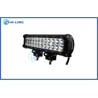 Best Vehicle or Boat Auto Offroad LED Light Bars 72 W CREE 12 Inch with Aluminum and PC Lens wholesale