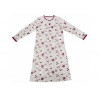 Best Super Soft Cotton Long Sleeve Sleep Dress , Fashion Women'S Gowns Sleepwear wholesale