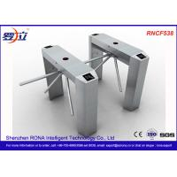 Best Semi Automatic Access Control Tripod Turnstile Gate Stainless Steel For Public Areas wholesale