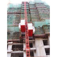 China 500kg Counter Weight Double Cage Construction Passenger Hoist for Passenger and Goods on sale