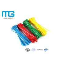 Best Self Locking Nylon Cable Ties Fire Resistance With CE , UL Certification wholesale