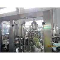 Cheap Food Stage Stainless Steel 4000Bph 3-In-1 Filling Machine With Touch Screen for sale