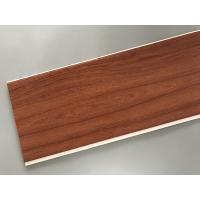 Best Eco Friendly PVC Wood Plastic Laminate Panels Flat Shape 250 × 8mm × 5.95m wholesale
