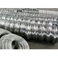 Best Low Carbon Steel Electro Galvanized Wire , 18 Gauge Galvanized Binding Wire wholesale