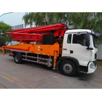 Best Air Cooling Euro 2 Concrete Pump Truck With 32MPa Rated Working Pressure wholesale