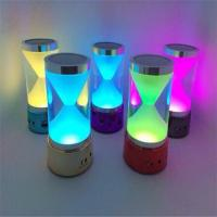 Best 2015 BT-18 MUSIC bluetooth Hourglass Speaker with magic LED lights TF Card Remote Control wholesale