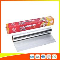 Best Customized Household Aluminum Foil Roll For Food Wrapping , Aluminum Foil Paper wholesale