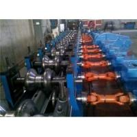 Best Automatic Highway W-Beam Guardrail Roll Forming Line 5-12m/Min wholesale