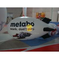 Best 4*1.6m Attractive Inflatable Advertising Helium Zeppelin Balloons for Weather Service wholesale