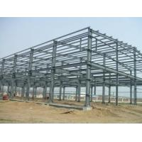 Quality Q235 / Q345 Grade Simple Industrial Steel Structures , Prefab Factory Steel Buildings wholesale