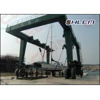 Best ISO HM350T 300t  / 600t / 800t  travel lift crane for boat hoisting and boat lifting wholesale