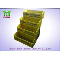 Best Foldable Plastic Corrugated Counter Top Display Stands / Baby Toy Retail Counter Display wholesale