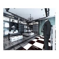 Best Commercial Retail Garment Shop Fittings High Grade Customized With Display Racks wholesale