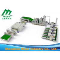 Best 25000 KG Weight Non Woven Polyester Wadding Production Line With Thermal Bonded wholesale