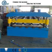 China Efficiency Automatic Metal Roofing Tile Sheet Roll Forming Machine For Factory on sale