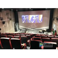 Best Synthetic Leather 4D Movie Theater With Many Special Effects And Customization Logo wholesale