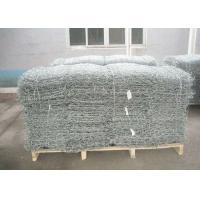 Cheap Gulafan Coated Wire Mesh Gabion Cage 2*1*0.5m Used In River Protection for sale