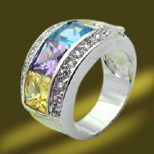 Best Four Big Stones Copper Ring wholesale