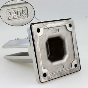 Best Duplex 2205 Stainless Steel Glass Spigot / Pool Fence Glass Spigot Balustrade / Frameless Glass Railing Spigot wholesale