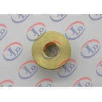 Best CNC Turning Brass Nut 0.717 In Outer Diameter With Hex Hole High Strength wholesale