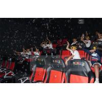 Best Crazy 6D Movie Theater , 6D Motion Simulators Experience With Many Kinds Of Special Effects wholesale
