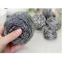 Best Household Cleaning Metal Scouring Ball Helical Structure Not Easy To Drop Crumbs wholesale