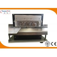 Buy cheap Four Different Optional Speed  PCB Depanelizer With Six High Speed Steel Blades from wholesalers