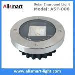 Best Solar Ground Lights Warm Solar Inground Spotlights White Solar Underground Pathway Lights Outdoor Solar Landscape Light wholesale