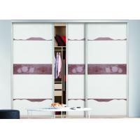 glass sliding door wardrobes aluminium frame modern bedroom design