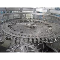 Cheap 10000 BPH Soft Drink Production Line Automatic For Glass / Pet Round Bottle for sale