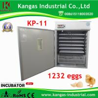 Best Holding 1232 Eggs Ce Marked Automatic Incubator for Hatching Eggs Ce Approved wholesale