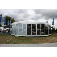Quality Commercial Enclosed Gazebo Tent Marquee With 850gsm White Fabric Top Cover wholesale