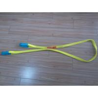 Cheap 1 Inch Duplex Webbing Sling , Polyester Webbing Lifting Slings With Orange Label for sale