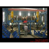 Best H Beam Fabrication Welding Equipment / Auto Saw Welder For Flange And Web Welding Seam wholesale