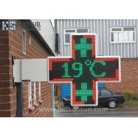 Best Aluminum Cabinet Led Sign Board , LED Pharmacy Cross Sign OEM / ODM Available wholesale
