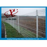 China Science & Industry Zone Welded Wire Mesh Fence / Welded Steel Mesh Panels on sale