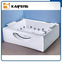 Best T Shape Inlet Electric Jacuzzi Whirlpool Bath Tub With Air Bubble Water Jets wholesale