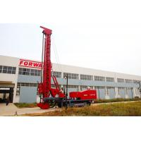 Best Red 243Kw Modified Multifunction Top Drive Drill Rig , Rotate Angle 0º- 90 º wholesale