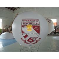Best Digital printing business ad helium balloon with 0.18mm PVC for opening event wholesale