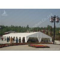 Best Portable Aluminum Structure Big Party Tents , Amazing White Fabric Party Marquee wholesale