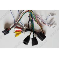 Vehicle Headlight Wire Harness RCA JST LED Cable Assembly Bullet Connector