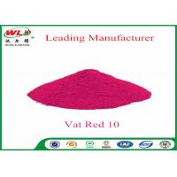 Best Textile Dyeing Chemicals C I Vat Red 10 Vat Red Fbb Good Water Diffusion wholesale