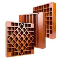 Best Wood Acoustic Diffuser Ceiling Panels , 3D MDF Auditorium Sound Proof Wall Board wholesale
