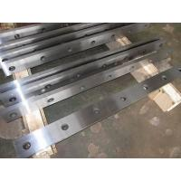 Best Cr12Mov Material Metal Shear Blades / Carbide Blade Tools For Cutting Sheet Metal wholesale