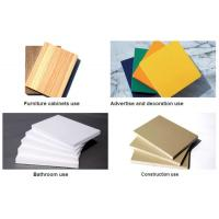 Best High Density White 19mm Sintra PVC Forex Sheet For Upholstery wholesale