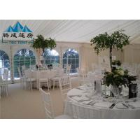 Best 300 People Large Wedding Event Tents Fire Proof With Tables And Chairs wholesale